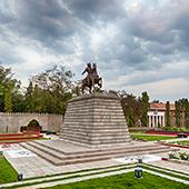 sama landscape design Monument Park for Chhatrapati Shivaji Maharaj