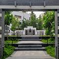 sama landscape design Memorial Park for Shri Jaywantraoji Bhosale